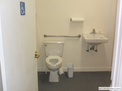 Handicapped access  bathroom