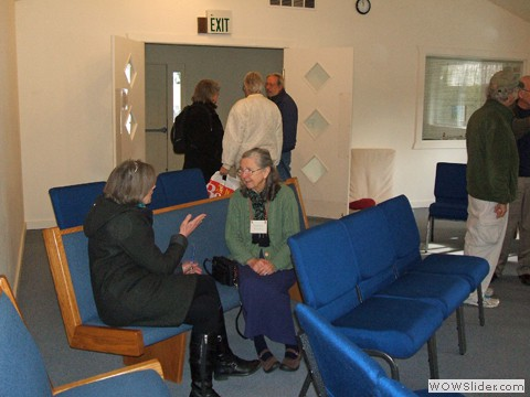 1-on-1 conversation space