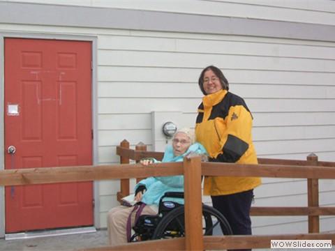 Wheelchair accessible via ramp