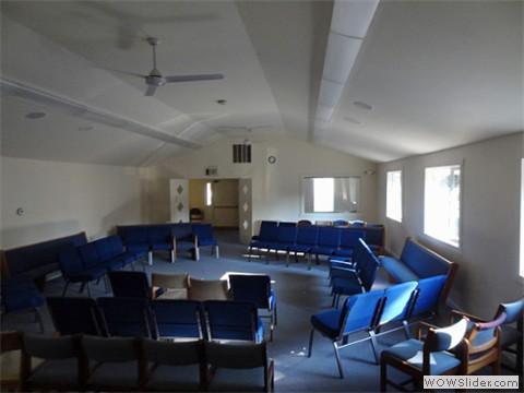 Main room holds 129 Souls